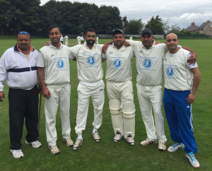 Local cricket team Omars C.C. have been supporting Empowering Communities with fundraising since 2014